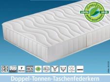 DTFK Pro / Doppel-Tonnen-Taschenfederkernmatratze DTFK Pro