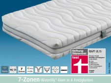 Studioline / 7-Zonen-Waterlily-Kern / Stiftung Warentest